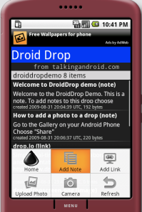 Droid Drop Screenshot